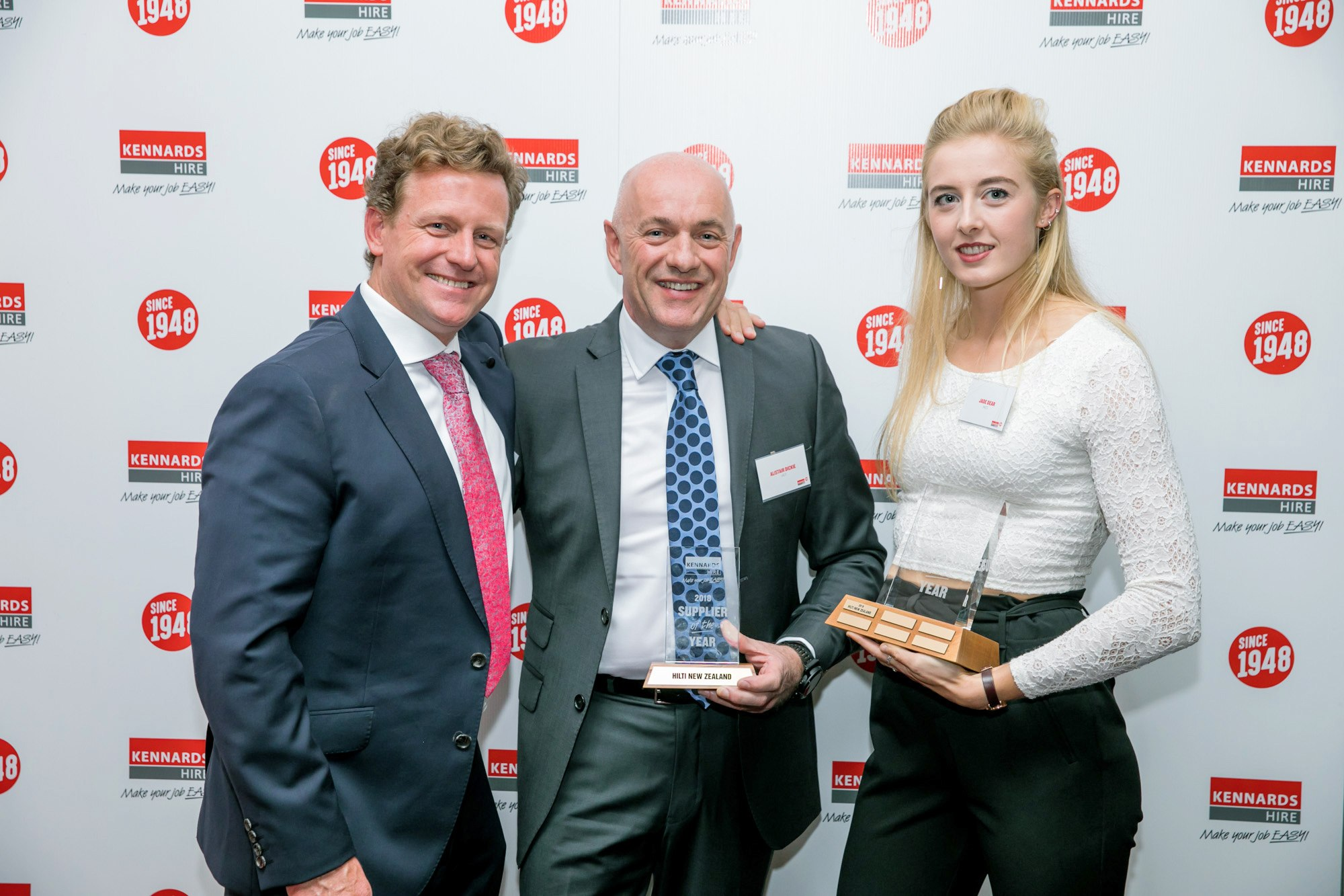 Hilti wins inaugural  Kennards Hire NZ Supplier of the Year Award