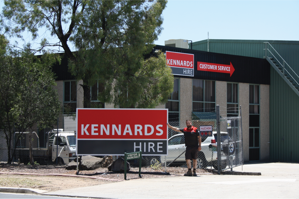 Kennards Hire builds its network in Smeaton Grange