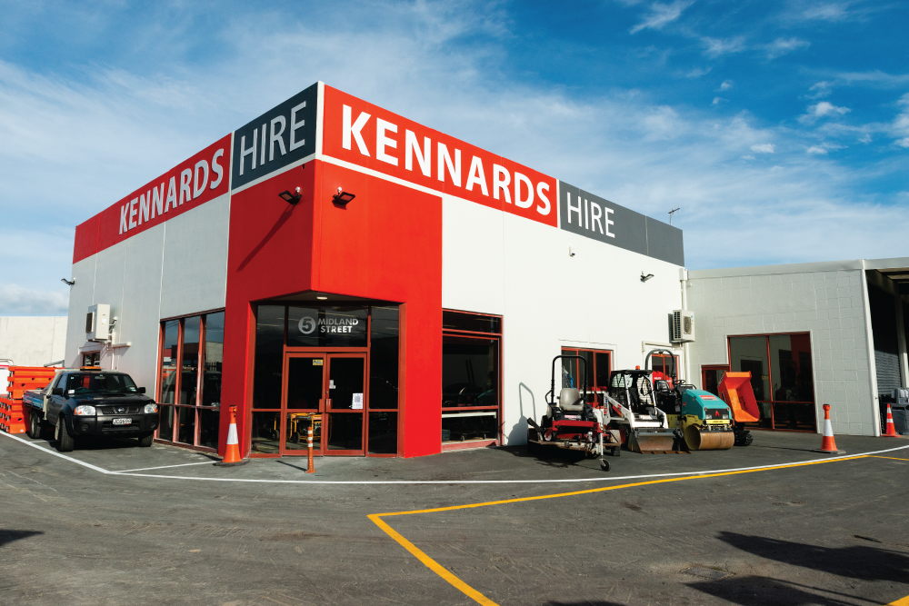 Kennards Hire accelerates growth in New Zealand's south island