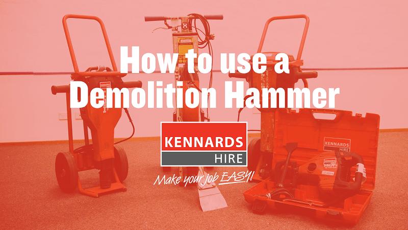 How to Use a Demolition Hammer