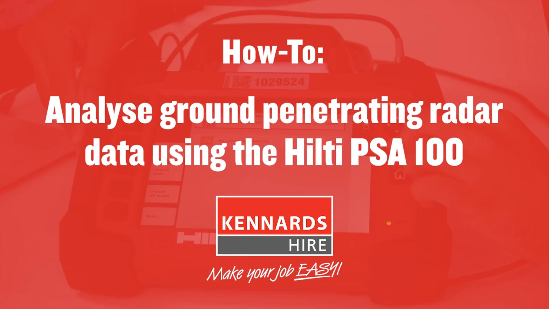 How to Analyse Ground Penetrating Radar Data