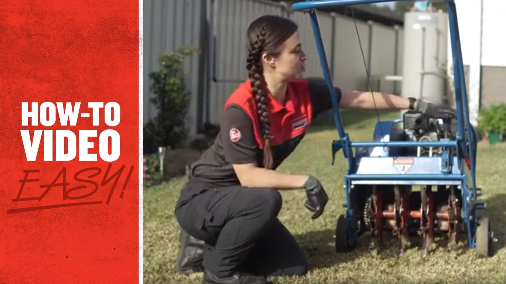 How to use a Lawn Corer