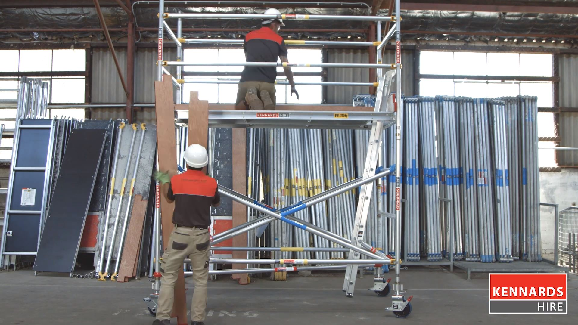 Dismantling Scaffold