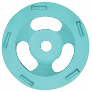 """PCD CUP DISC  5"""" - 8MM FULL ROUND"""