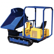 DUMPER TRACKED - SWIVEL BUCKET RIDE ON