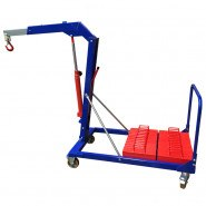 FLOOR CRANE -  500KG COUNTER WEIGHTED