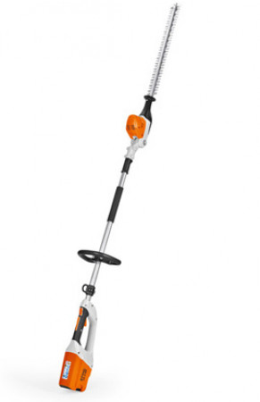 HEDGE TRIMMER - CORDLESS LONG HANDLE