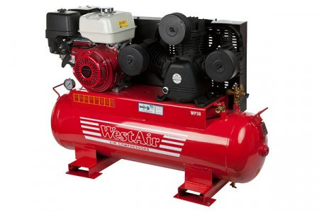 AIR COMPRESSOR  38 CFM (PETROL)