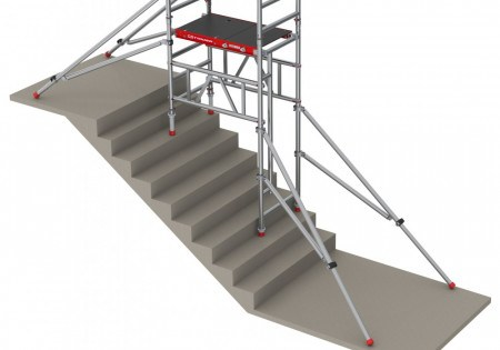 SCAFFOLD - ALUM 3.9M NARROW STAIR KIT (USE WITH SCAFFOLD - CODE: 9003546)
