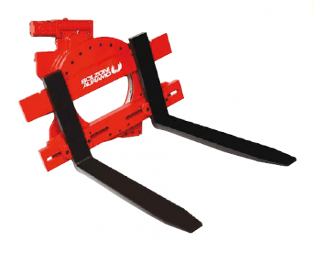TELEHANDLER - 2.5T ROTATOR ATTACHMENT