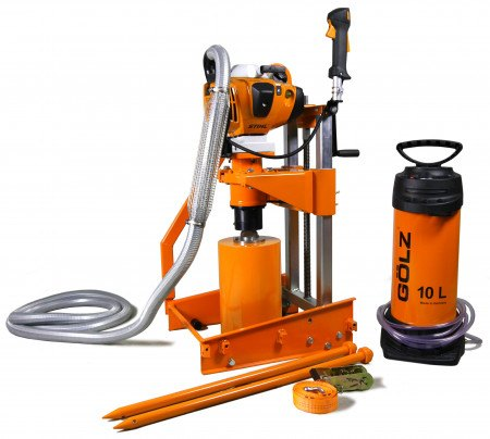 DRILL - CORE TO 350MM PETROL