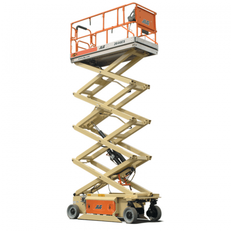 SCISSORLIFT 7.7M (26FT) ELECTRIC