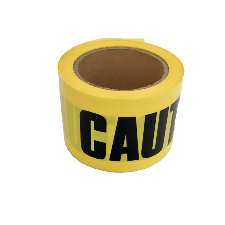 BARRICADE TAPE - YELLOW/BLACK 50M CAUTION