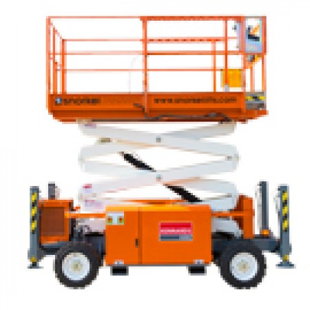 SCISSORLIFT 8.0M (27FT) DIESEL NARROW