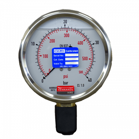 PRESSURE GAUGE - 40BAR ANALOGUE
