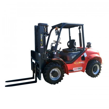 FORKLIFT -  2.1T TO 2.5T ROUGH TERRAIN