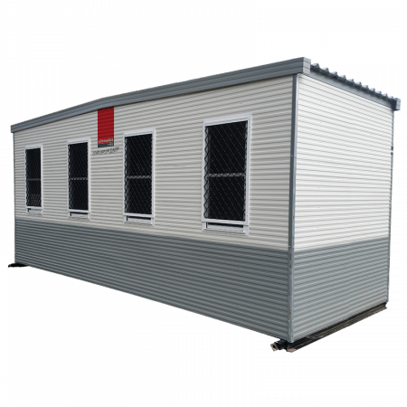 SHED - TICKET OFFICE 6M X 2.4M