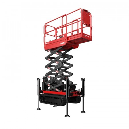 SCISSORLIFT  5.8M (19FT) TRACKED BI-LEVELLING NARROW