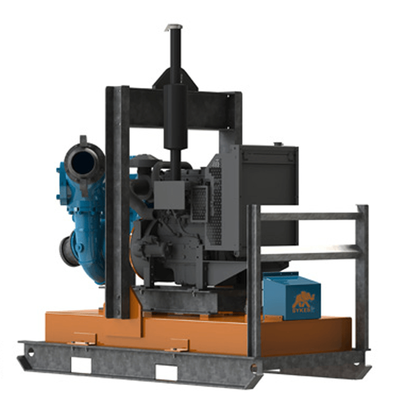 PUMP - OPEN FRAME SKID 150MM 6IN CP150I for Rent - Kennards Hire