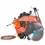 SAW - ROAD 750MM (30IN) DIESEL 31HP (2 BLADE SET)