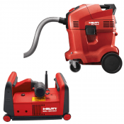 WALL CHASER 125MM INCLUDES VACUUM CLEANER