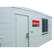 SHED - SITE  2.4M X 2.4M