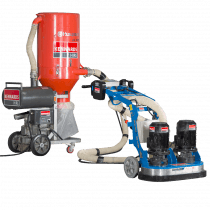 CONCRETE GRINDER - DOUBLE HEAD HEAVY DUTY 415V