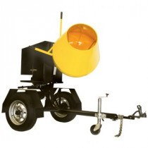 CONCRETE MIXER - 0.1 CU.MTR (3CU.FT) PETROL TOWABLE