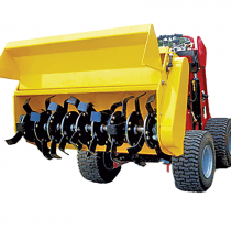 MINI LOADER - ROTARY HOE ATTACHMENT