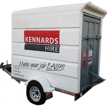 TRAILER - ENCLOSED   MEDIUM