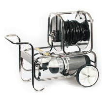 BREATHING APPARATUS - DUAL CYLINDER WITH AIR HOSE REEL