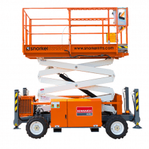 SCISSORLIFT  6.7M (22FT) DIESEL NARROW