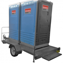 TOILET (X2) FRESHWATER WITH TRAILER