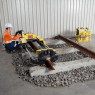 TENSOR - RAIL 120T WITH HYDRAULIC POWER PACK AND HAND PUMP