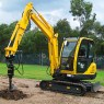 EXCAVATOR - POST HOLE ATTACHMENT SUIT 1.5T - 1.8T