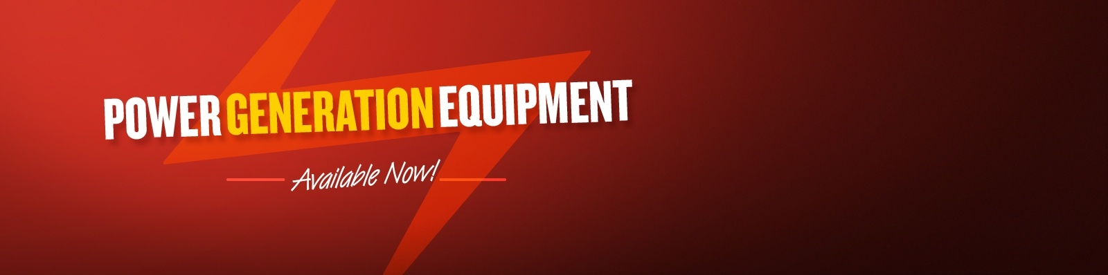 Check out our specialist equipment