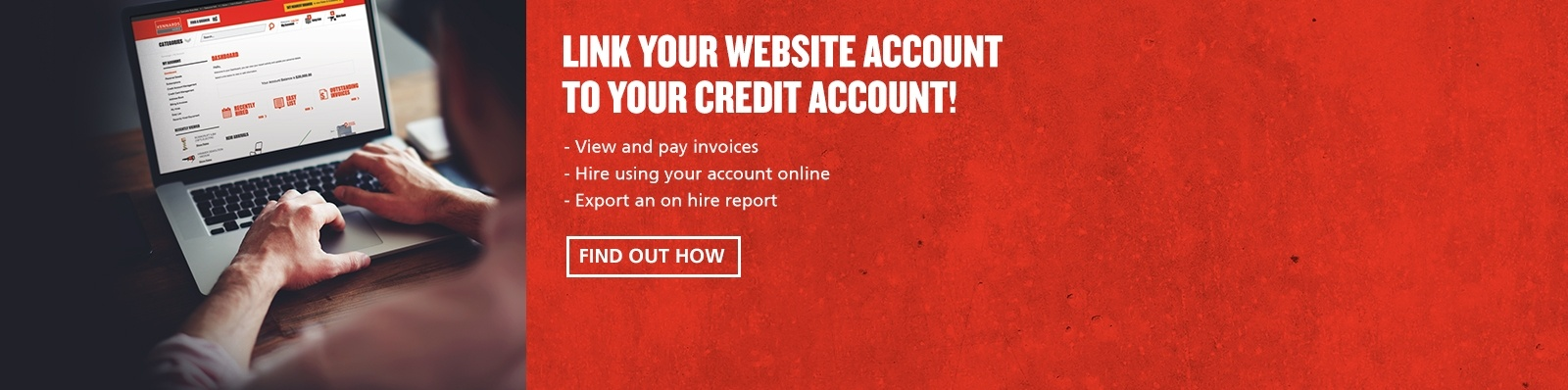 Link Your Web Account to Your Credit Account