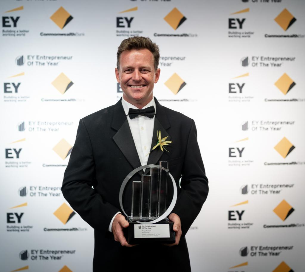 Angus Kennard Sustained Excellence Award at EY Entrepreneur of the Year Awards 2019