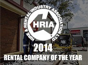 Rental company of the year